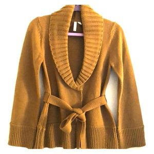 Susina sweater cardigan with belt